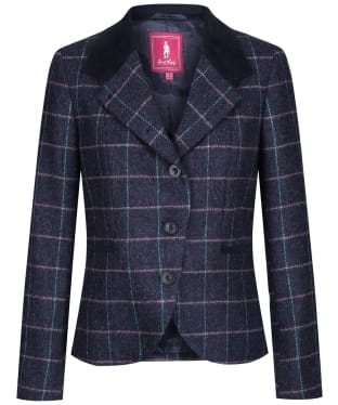 Women's Jack Murphy Sasha Tweed Jacket - Navy Dreamer