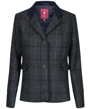 Women's Jack Murphy Donna Tweed Blazer - Teal Earth