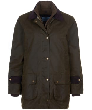 Women's Barbour Marina Fogle Paisley Waxed Jacket