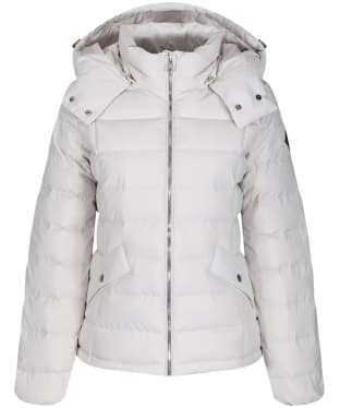 Women's Gant Classic Down Jacket - Cream