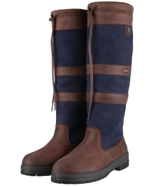 Dubarry Galway SlimFit™ Country Boots - Navy / Brown