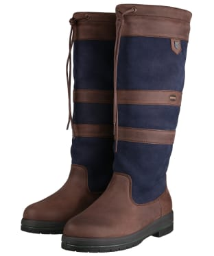 Dubarry Galway ExtraFit™ Country Boots - Navy / Brown