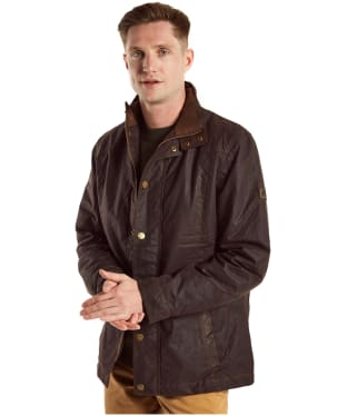 Men's Dubarry Carrickfergus Waxed Jacket - Java