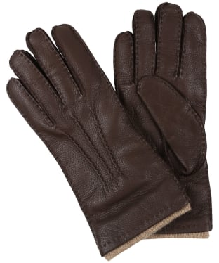 Women's Dubarry Kilconnel Leather Gloves - Mahogany