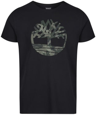 Men's Timberland SS Kennebec River Tree Tee - Black
