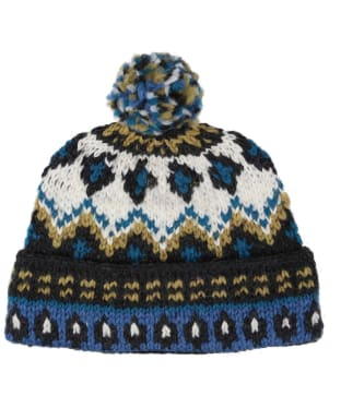 Men's Edmund Hillary Bobble Hat - Blue