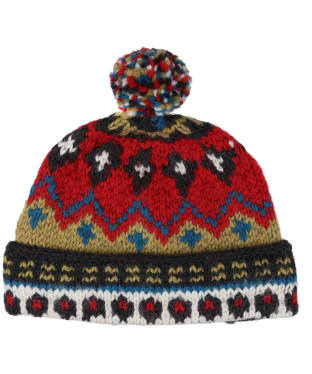 Men's Edmund Hillary Bobble Hat - Red