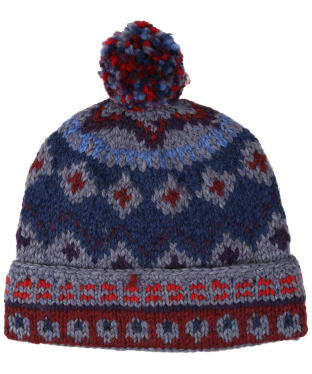 Men's Edmund Hillary Bobble Hat - Red / Blue