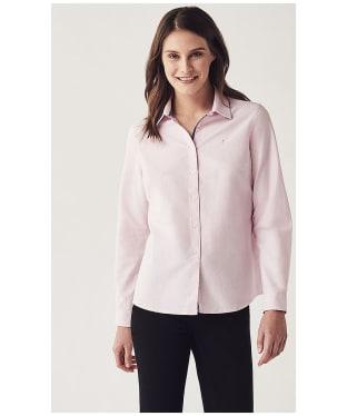 Women's Crew Clothing Oxford Classic Shirt - Classic Pink