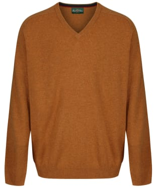 Men's Alan Paine Streetly V-Neck Pullover - Gazelle