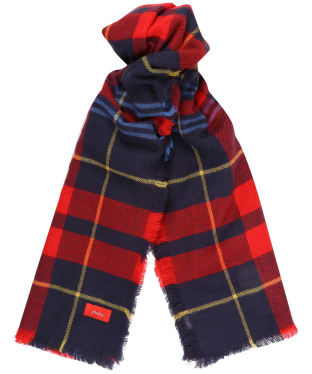 Women's Joules Heyford Scarf - Navy Check