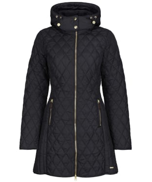 Women's Joules Chatham Quilted Jacket - True Black