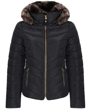 Women's Joules Gosway Padded Jacket - True Black