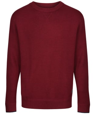 Men's Joules Eskdale Milano Stitch Jumper - Deep Red