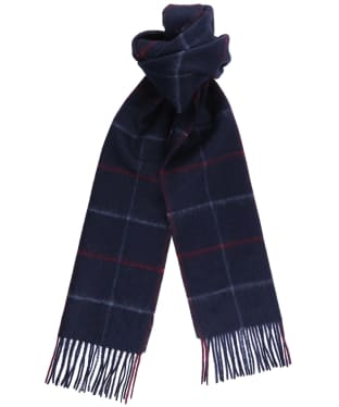 Men's Joules Tytherton Scarf - Dark Blue Check