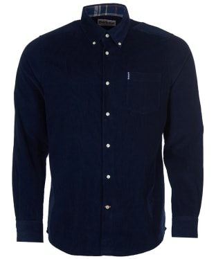 Men's Barbour Cord 1 Tailored Shirt - New Navy