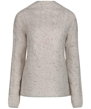 Women's Joules Joyce Cable Jumper - Cream Flecks