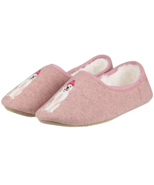 Women's Joules Slippet Character Mule Slippers - Gold Dalmatian