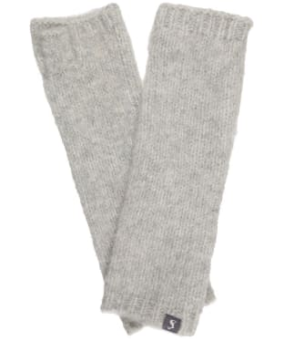 Women's Joules Snugwell Gloves - Grey Marl