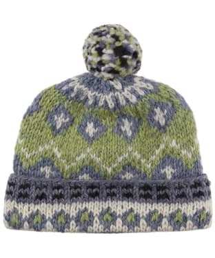 Men's Edmund Hillary Bobble Hat - Green
