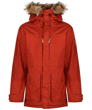 Men's Fjallraven Barents Waterproof Parka - Autumn Leaf