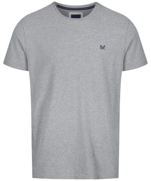 Men's Crew Clothing Classic Tee - Grey Marl