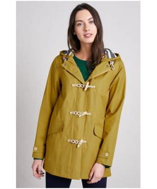 Women's Seasalt Long Seafolly Waterproof Jacket - Pear