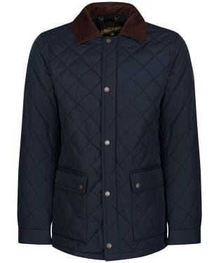 Men's Dubarry Adare Quilted Jacket - Navy