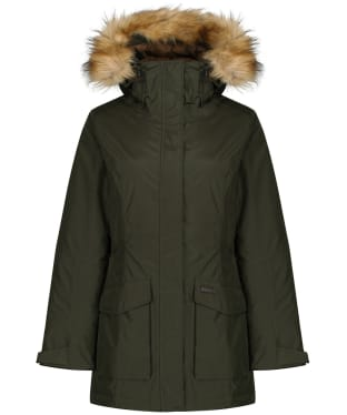 Women's Schoffel Bedale Waterproof Down Coat - Forest