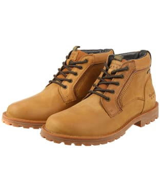 Men's Barbour Carrock Chukka Boots - Tan