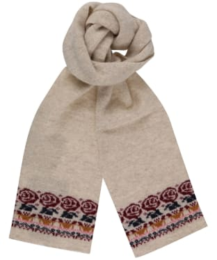 Girls Barbour British Waterway Fairisle Scarf