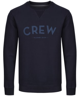 Men's Crew Clothing Cransley Crew Sweatshirt - Dark Navy