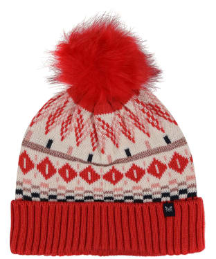 Women's Crew Clothing Fairisle Hat - Pink