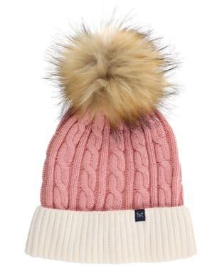 Women's Crew Clothing Ellesmere Bobble Hat - Pink