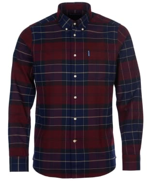 Men's Barbour Lustleigh Shirt - Merlot