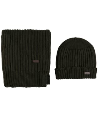 Men's Barbour Chunky Rib Knitted Giftset
