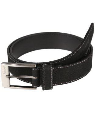 Men's Dubarry Leather Belt - Black