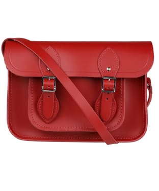 Women's The Cambridge Satchel Company 11 Inch Leather Satchel - Red
