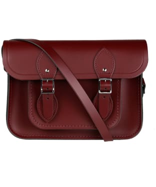 Women's The Cambridge Satchel Company 11 Inch Leather Satchel - Oxblood