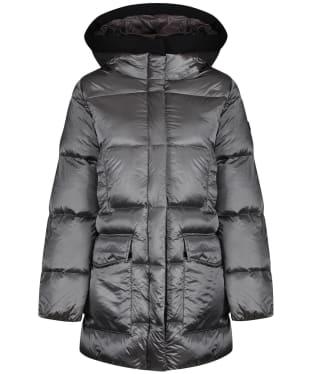 Women's Aigle Nutodi Mid Iridescent Jacket - Acier