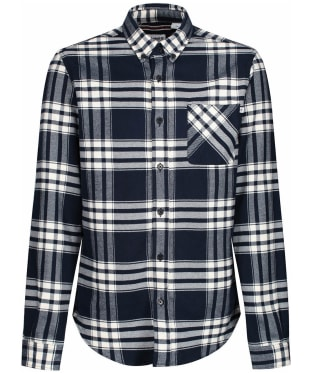 Men's Timberland Back River Flannel Check Shirt - Dark Navy