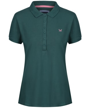 Women's Crew Clothing Classic Polo Shirt - Ivy