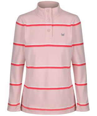 Women's Crew Clothing Padstow Sweatshirt - Pink Stripe