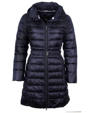 Women's Barbour Murray Quilted Jacket - Dark Navy