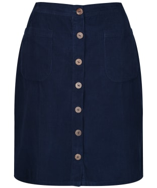 Women's Lily & Me A-Line Cord Skirt - Navy