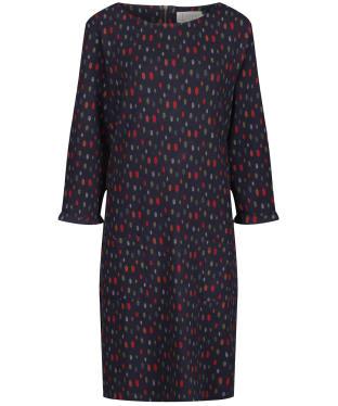 Women's Seasalt Print Makers Dress - Sketched Spots Dark Night
