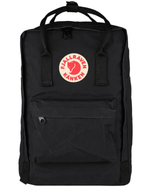 "Fjallraven Kanken Laptop 15"" Bag - Black"
