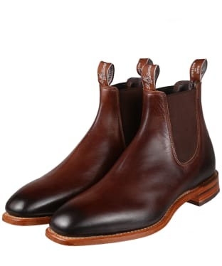 Men's R.M. Williams Chinchilla Boots - G Fit - Bordeaux