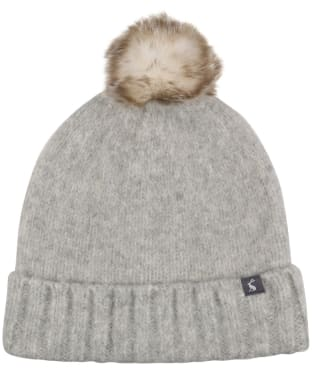 Women's Joules Snugwell Boucle Hat - Grey Marl