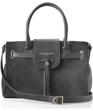 Women's Fairfax & Favor Windsor Handbag - Grey